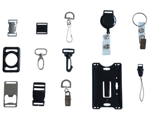 attachments for printed lanyards
