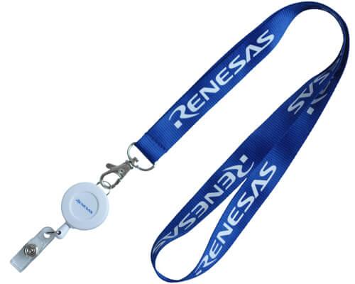 badge reel lanyards keyholder