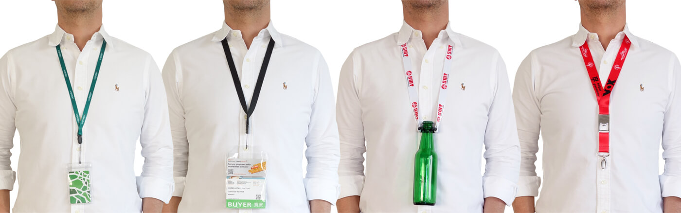 lanyards different individual width