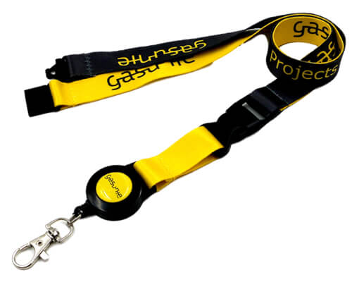 lanyards with badge reel
