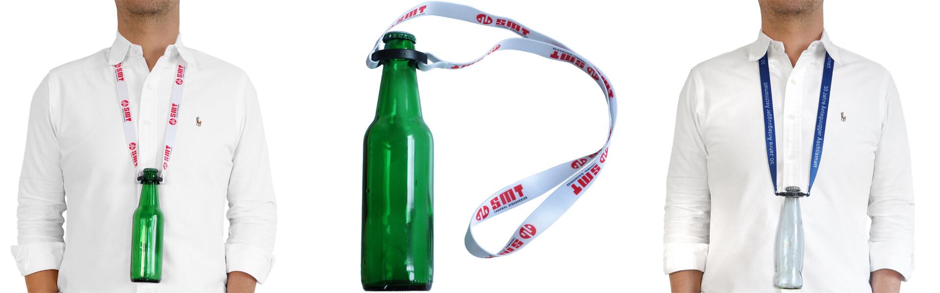 lanyards with bottle holder